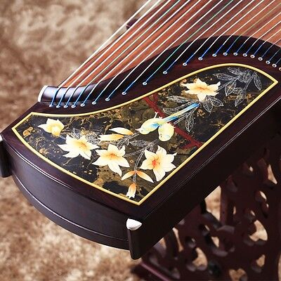"64"" Traditional Chinese musical instrument Chinese zither Gu Zheng Harp #2806"