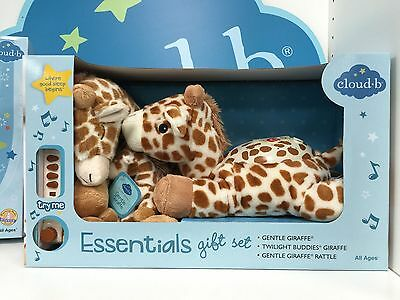 Cloud b Gentle Giraffe Essentials Gift Set NEW In BOX