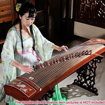 "64"" Traditional Chinese musical instrument Chinese zither Gu Zheng Harp #2807"