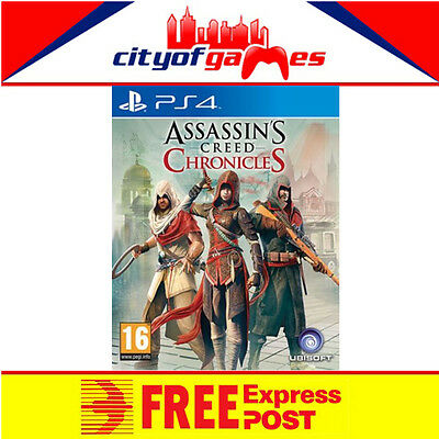 Assassins Creed Chronicles PS4 Brand New & Sealed Free Express Post In Stock