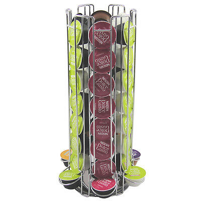 Extra Large Rotating Stand Storage 48 Dolce Gusto Coffee Capsule Holder Rack