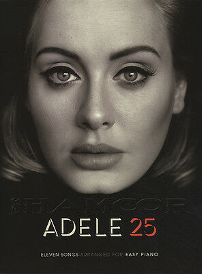 Adele 25 Easy Piano Sheet Music Book Hello Million Years Ago When We Were Young