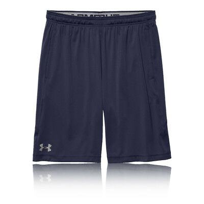 Under Armour Raid 8 Inch Mens Blue HeatGear Running Sports Shorts Bottoms Pants
