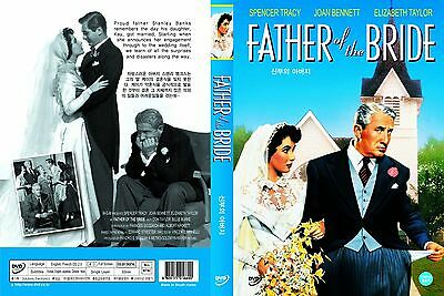 Father Of The Bride,1950 (DVD,All,Sealed,New) Elizabeth Taylor