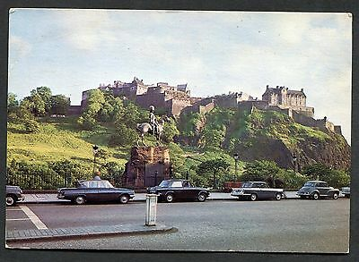 Dated 1980. View of Edinburgh Castle from Princess Street