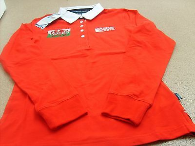 Rugby World Cup 2015 Wales Women's Rugby Shirt/Jersey(Embroidered Logo)