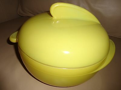 Maid of Honor Mid century Modern Casserole Yellow..