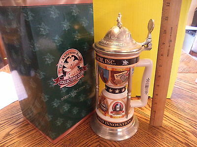 Anheuser Busch 2000 Members Only Stein A Celebration Of Achievements Cb15 In Box