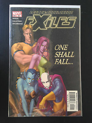 Box 10a, Marvel Comic, Exiles, # 22, One Shall Fall Legacy Conclusion
