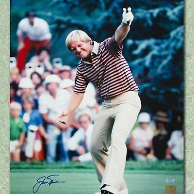 Jack Nicklaus Autographed Fourth U.S. Open Victory 16x20 Photo-AJ Sports World