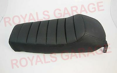 Cafe Racer Style Single Seat Black For Royal Bikes Enfield Classic