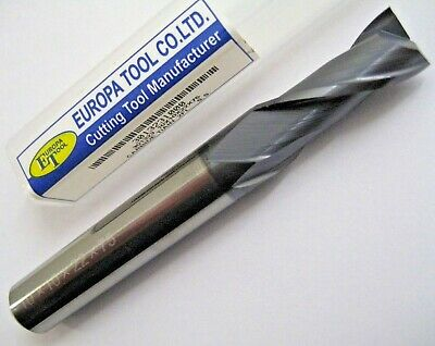 10mm SOLIDCARBIDE 2 FLUTED TiALN COATED SLOT END MILL EUROPA TOOL 3013231000 172