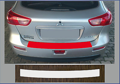 clear protective foil bumper transparent Mitsubishi Lancer Sportback from 08