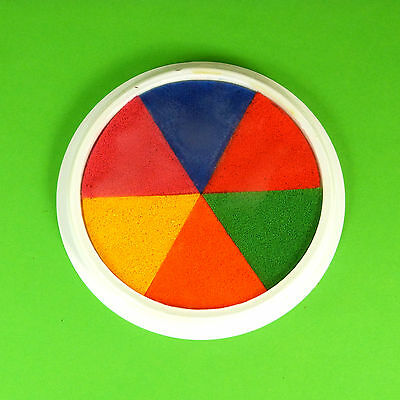 Giant Multi-Coloured Paint Pad (15cm) - Hand, Palm, Printing, Stamping