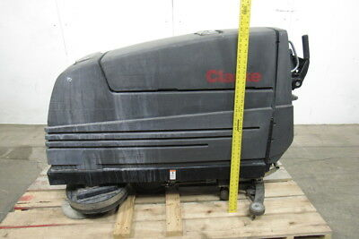 "Clarke Vision V Floor Scrubber 24V 26"" Path 20 Gal Tanks(2)  Tested !"