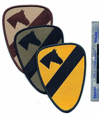 1St Cavalry Combat Patch 3 Types