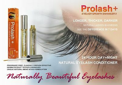 Prolash+ II Eyelash Brow Growth Rapid Lash Liquid Treatment Serum Enhancer 6.5ml
