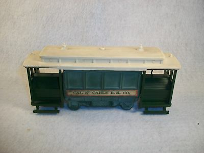 Avon Cable Car Bottle Leather Aftershave