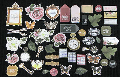 Kaisercraft 'TREASURED MOMENTS' Collectables Die Cut Shapes KAISER *Deleted*