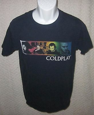 Coldplay Twisted Logic Concert Tour t-shirt size adult Small