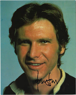 Harrison Ford Signed 10X8 Photo, Great Studio Film Image, Looks Great Framed