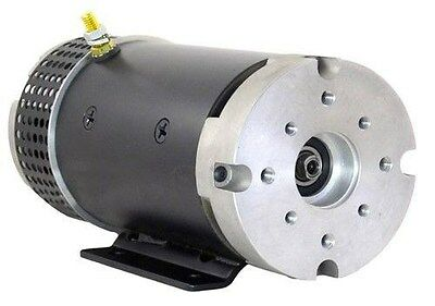 NEW 24V PUMP MOTOR FOR SCISSOR LIFT w/ CHRYSLER COUPLER SHAFT 7011041 MBD-5112S