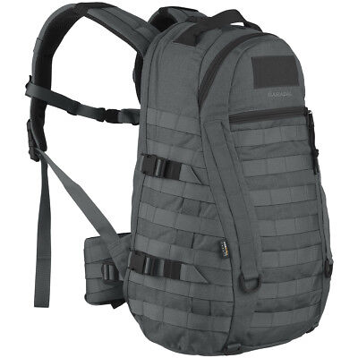 Wisport Caracal 25L Hydration Rucksack Army Molle Backpack Hiking Pack Graphite