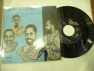 "MODERN JAZZ QUARTET""SOFTLY AS IN A MORNING-Disco 45 giri EP MUSIC Italy 1958"""