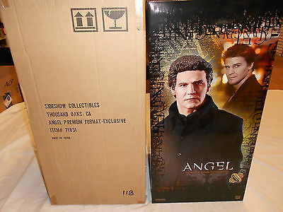 Buffy The Vampire Slayer Exclusive Angel Premium Format Statue Sideshow