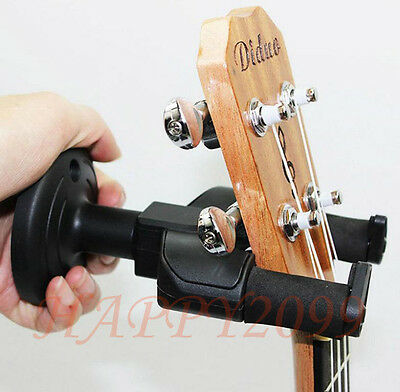 Universel Stand Pour Guitare Socle Support Mural Suspension Support Rack Crochet