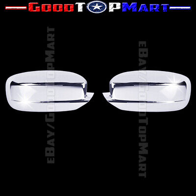 For Dodge CHARGER 2011-2014 2015 2016 Chrome Covers Set Full Mirrors Gas Door