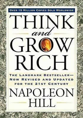 NEW Think and Grow Rich (Bevelled Edge edition) By Napoleon Hill Paperback