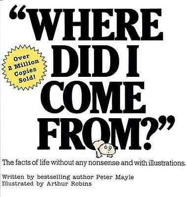 NEW Where Did I Come From? By Peter Mayle Paperback Free Shipping