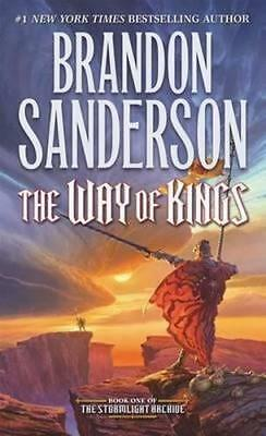 NEW The Way of Kings By Brandon Sanderson Paperback Free Shipping