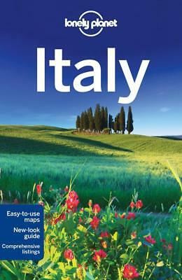 NEW Italy  By Lonely Planet Travel Guide Paperback Free Shipping