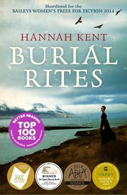 NEW Burial Rites By Hannah Kent Paperback Free Shipping