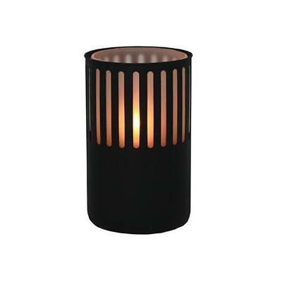 10x Oil Table Lamp / Light  'Leo - Black', Restaurant  - Safer than a Candle NEW
