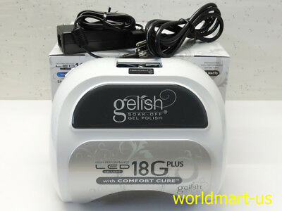 18G PLUS Harmony Gelish LED Lamp 18G PLUS Nail Dryer 110v-240v /US, AU, EU, UK