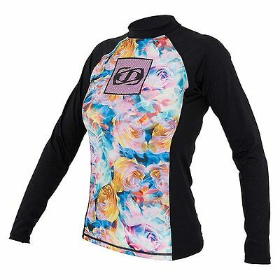 Lycra Corpo L/S Icon black pink JetPilot - confortable -chaud- wake-jetski-SUP