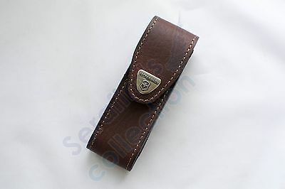 Victorinox Brown Leather Pouch 4.0548 Case Swiss Army Folding Knife