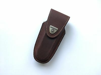 Victorinox Brown Leather Pouch 4.0538 Case Swiss Army Folding Knife