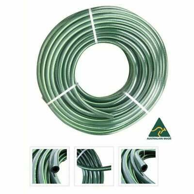 "100M Heavy Duty Rubber 12MM / 1/2"" Double Walls Water Garden Hose 9/10 Kink Free"