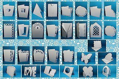 Brother ScanNCut 'Bare essentials 2' card templates CD1011