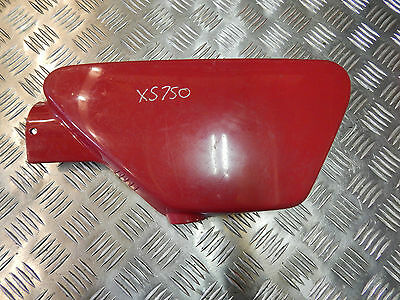 Yamaha Xs750 Left Hand Side Panel Red