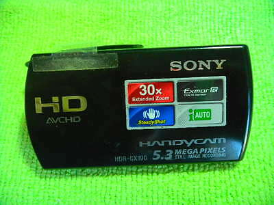 Genuine Sony Hdr-Cx190 Lcd Cover Parts For Repair