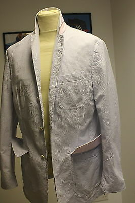 Ralph Lauren Gingham Boating Soft Summer Blazer M/l