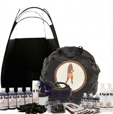 Kitty Hvlp Spray Tanning Kit-Unit, Tan, Tent& Disposables Should Be £239!!