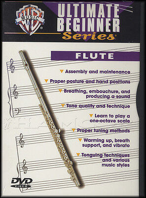 Flute Ultimate Beginner Series Learn How to Play Tuition DVD