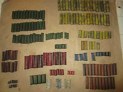 Lot of (175) Die Compression Springs #2  danly