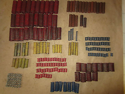 Lot of (230) Die Compression Springs #3  danly